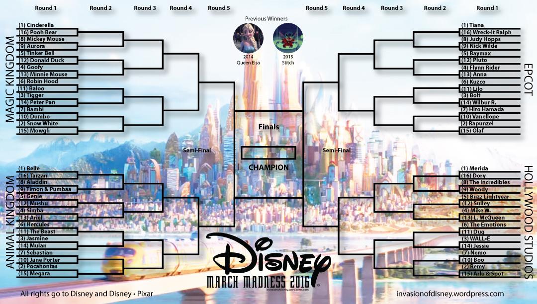Disney-March-Madness-2016–Round-1